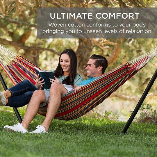 【Last Day Promotion-50% OFF-】ultimate comfortable leisure hammock—without stand