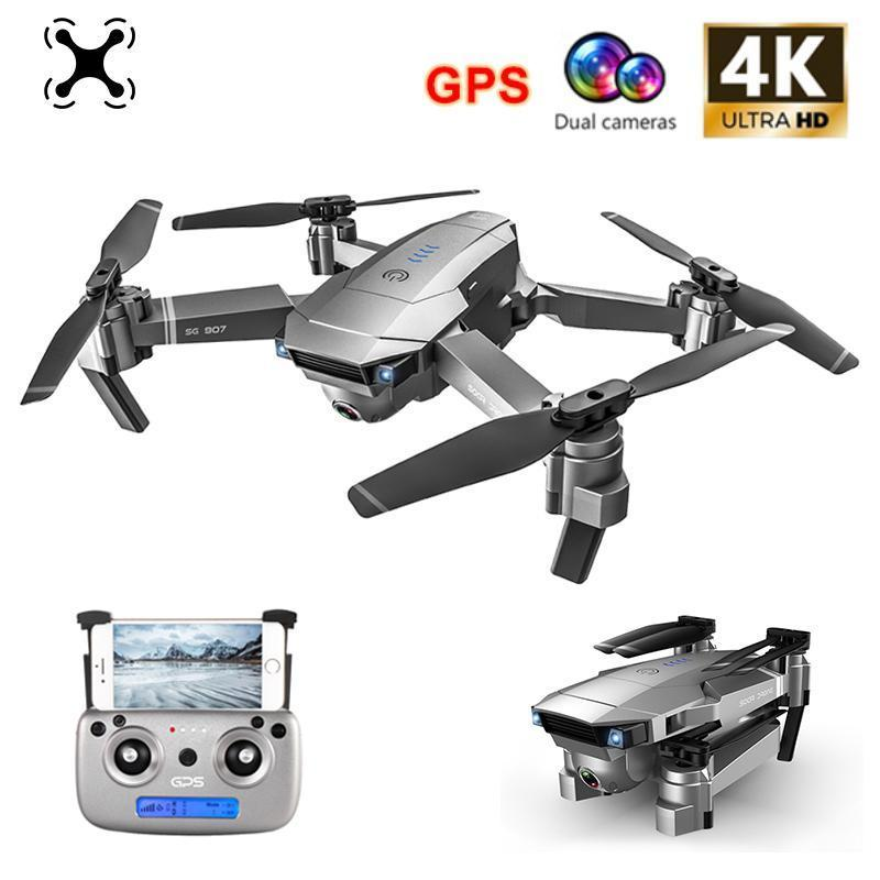 2020 FLY PRO SG907 GPS Drone with 4K HD Adjustment Camera Wide Angle 5G Drone