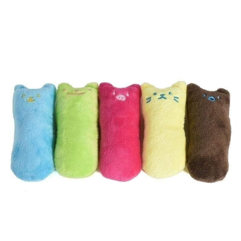 Catnip Pets Cat Pillow Toy Teeth Grinding Claws Pet Funny Toys(5 Color)
