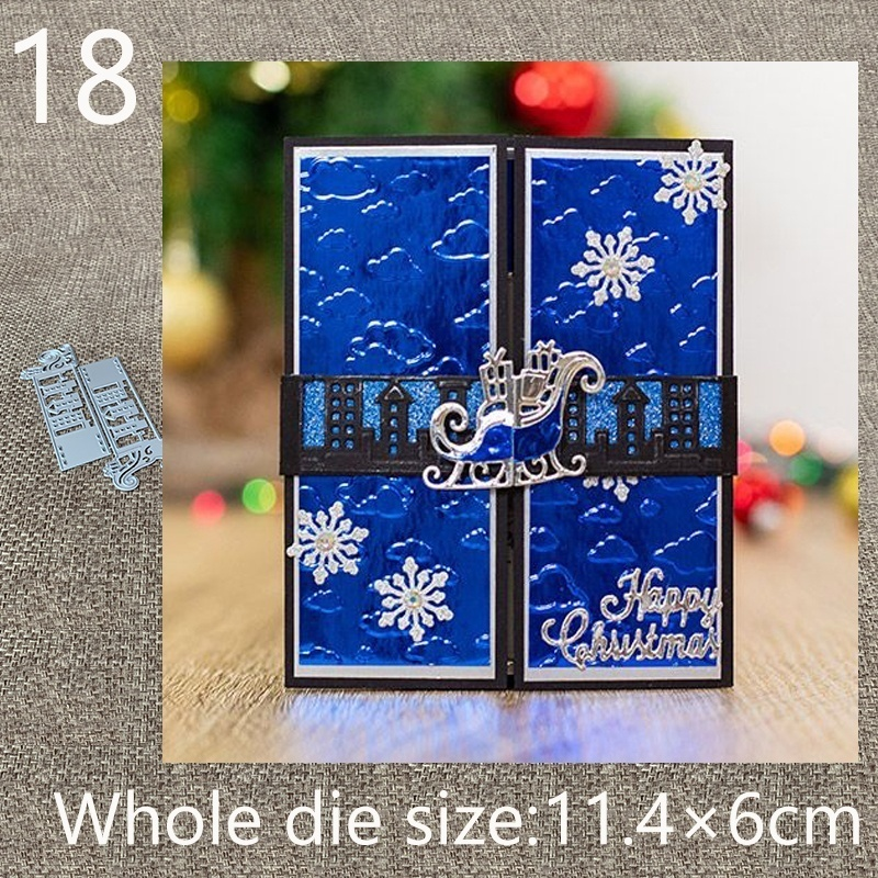 18 kinds of New Design Craft Metal Cutting Die die cuts card buckles decoration scrapbook Album Paper Card Craft Embossing die cuts