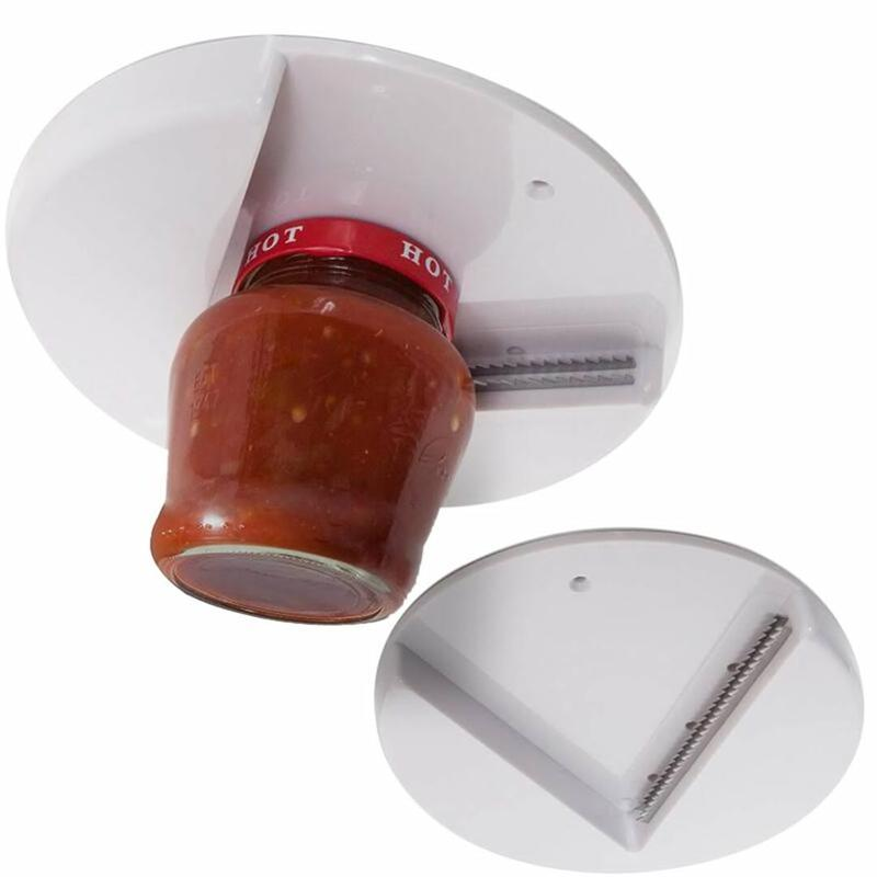 The Grip Jar Opener-Opens Any Size/Type of Lid Effortlessly
