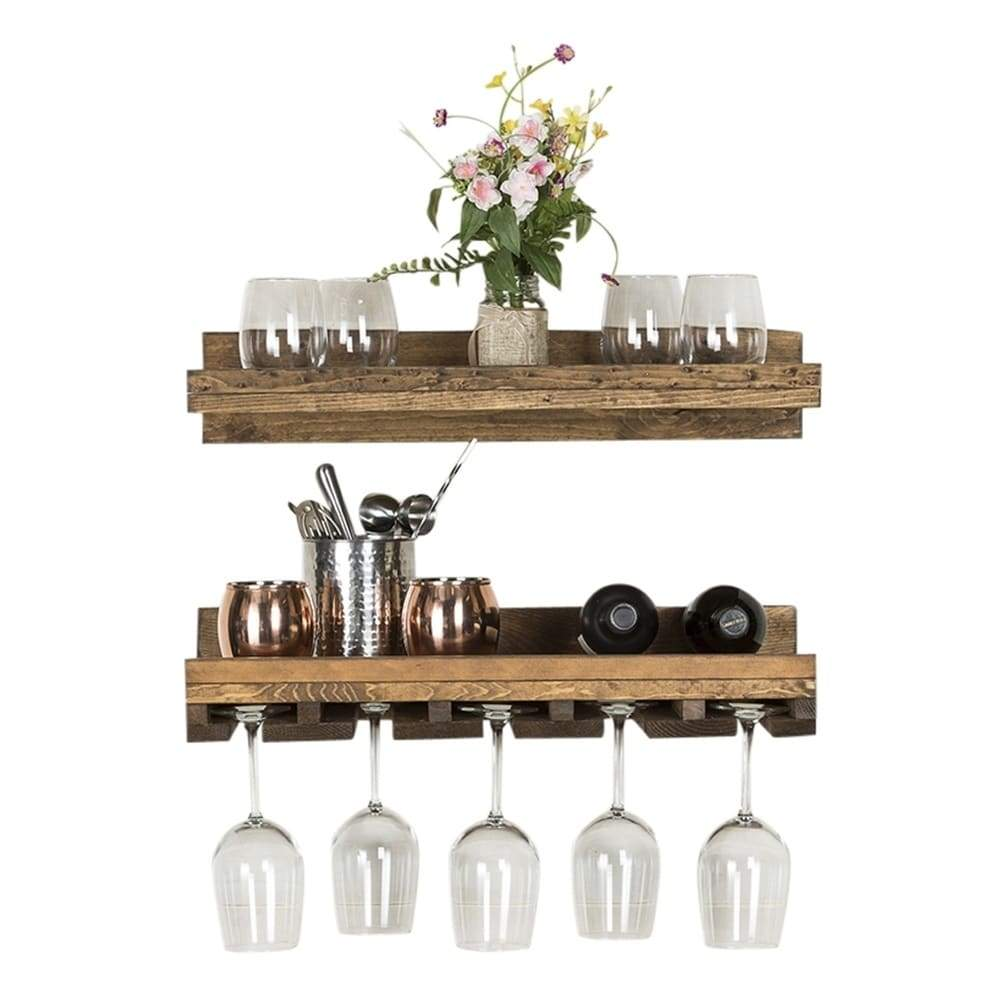 Del Hutson Designs Rustic Luxe Wine Set, 24
