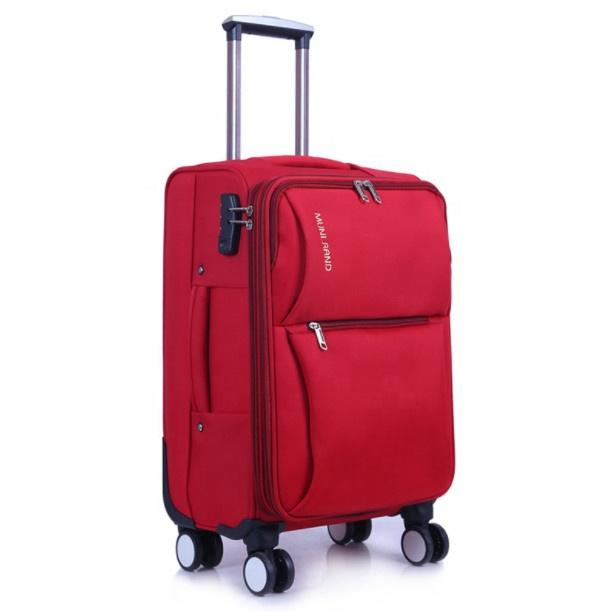 Wholesale Soft Luggage Travelling Trolley Suitcase Waterproof Fabric Case with Universal Wheels roller bag-1.9