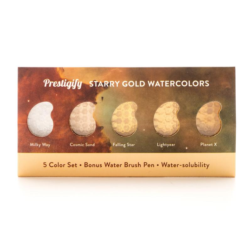 ✨(15%OFF&Free Shipping)✨Starry Gold Watercolors
