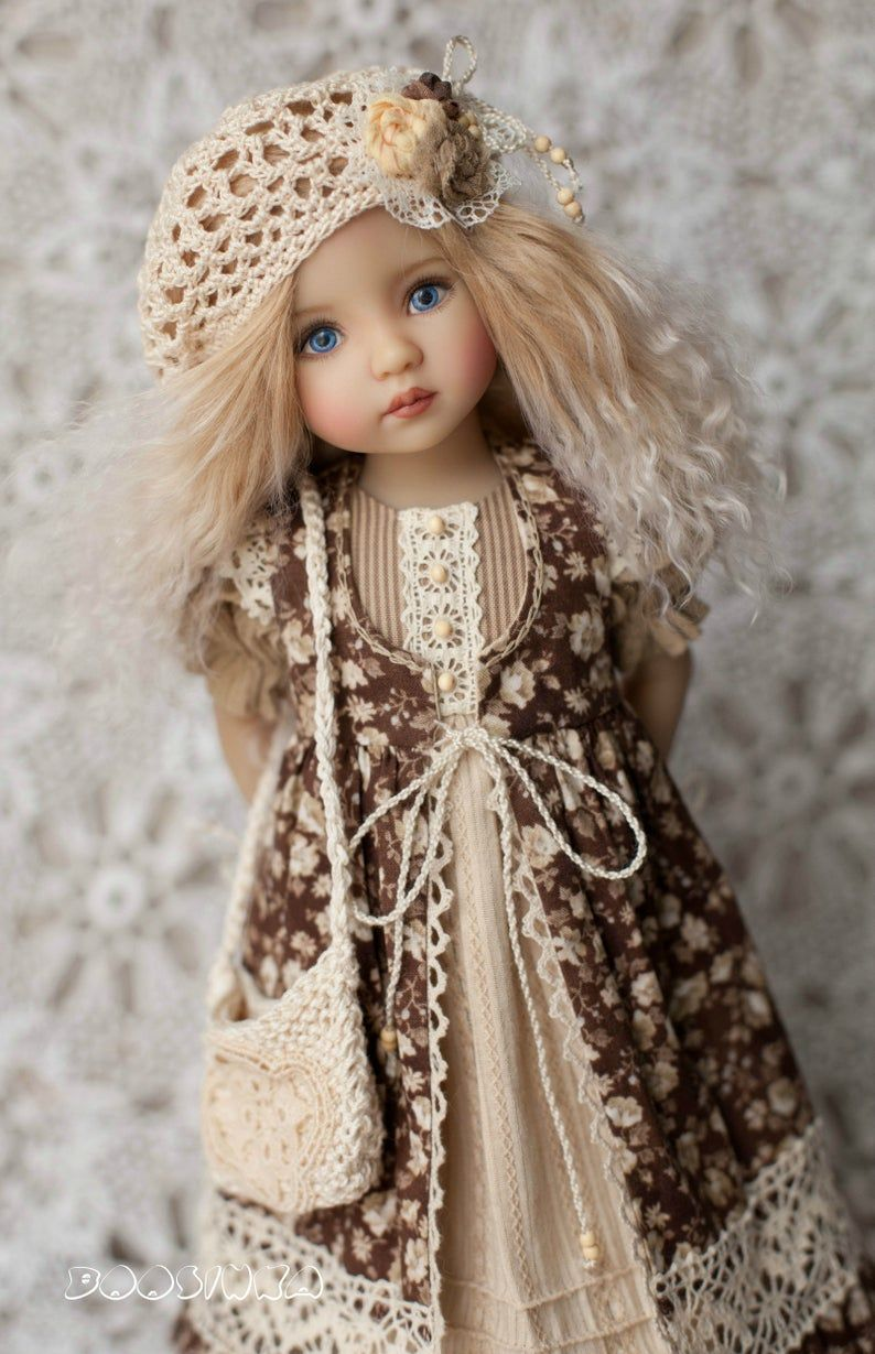 👧👧Little Darling Dianna Effner Doll with dress💝Lolita Style#9
