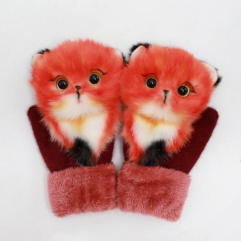 (🎅EARLY XMAS SALE - 50% OFF) Animal Mittens - A gift from mother to daughter, Buy 2 Free Shipping