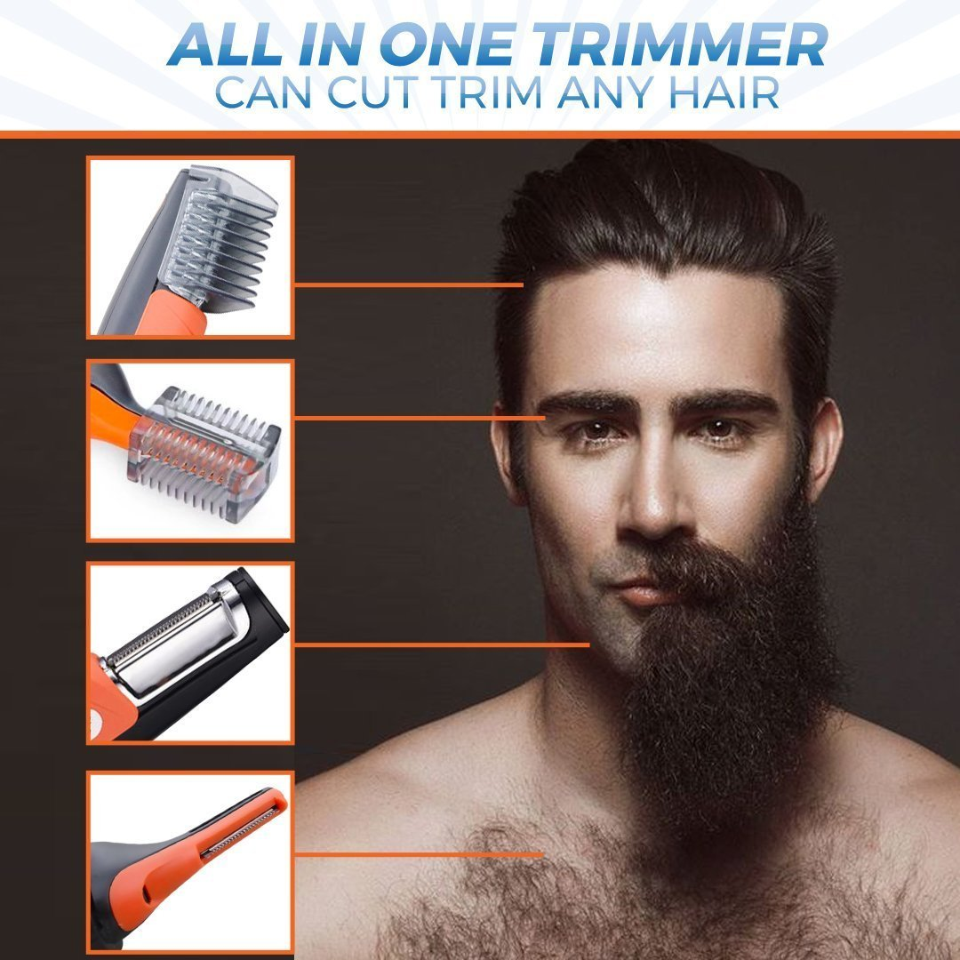 【50% OFF Last Day Promotion & On-Time Delivery】 -  Men All-in-One Hair Trimmer
