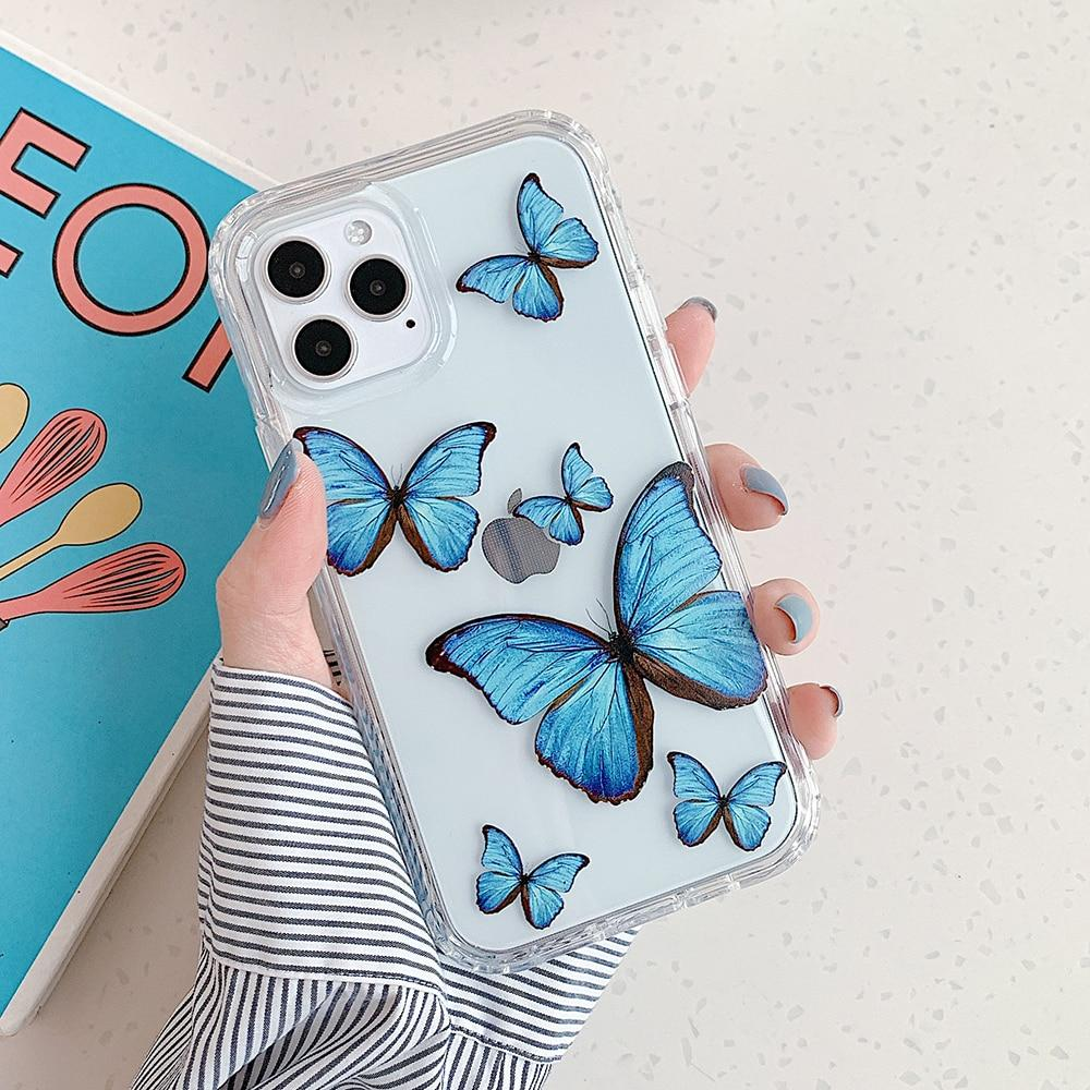 Colorful Butterfly Case