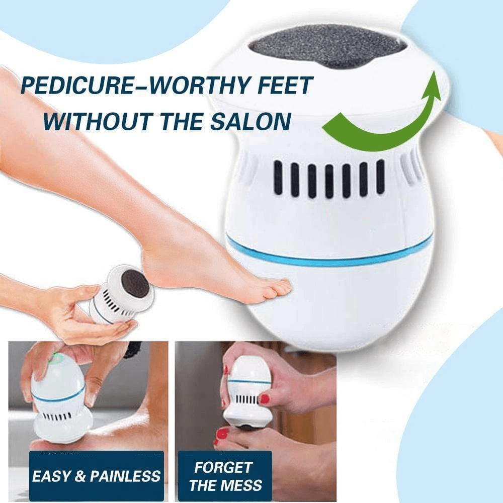 👉COD👈Foot File and Callus Remover With Built-In Vacuum