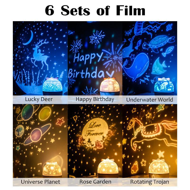 ✨💫360 Rotation Starry Sky Projector (Buy 2 Free Shipping)🌟😍