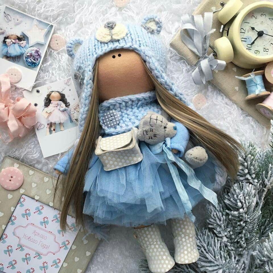 Liberty Dress For Waldorf Doll - Doll Clothing #12