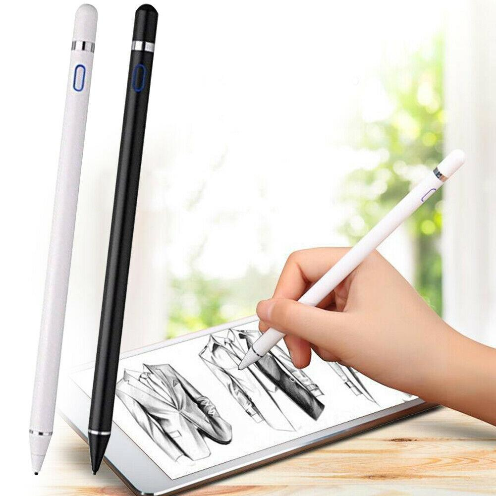 Stylus Pencil for Apple IPad Android Tablet Pen Drawing Pencil 2in1 Capacitive Screen Touch Pen Mobile Phone Smart Pen Accessory