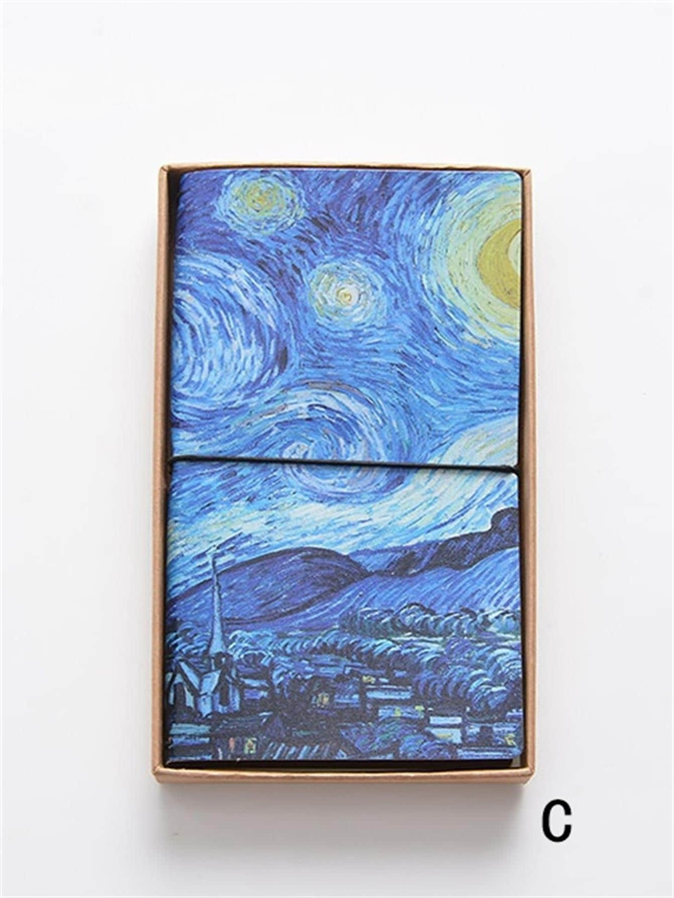 Oil Painting Cover Notebook 1pack