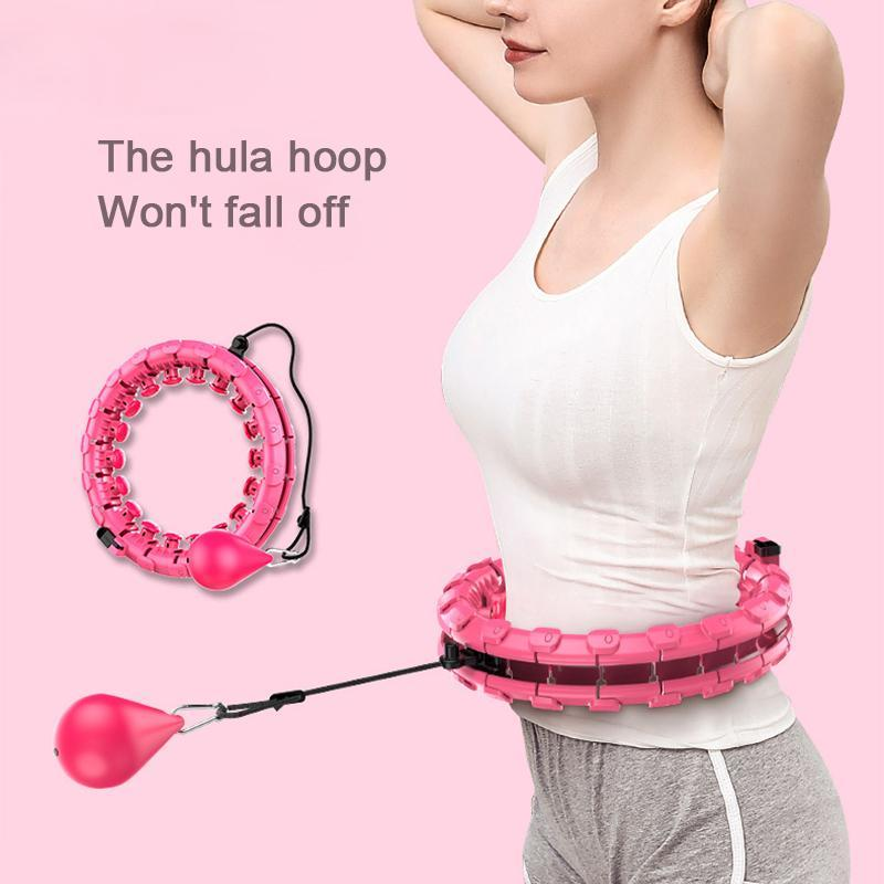 Smart hula hoop, Detachable and Size Adjustable Hot Waist Weight Loss Sports Equipment(Limited purchase of 1 pieces)