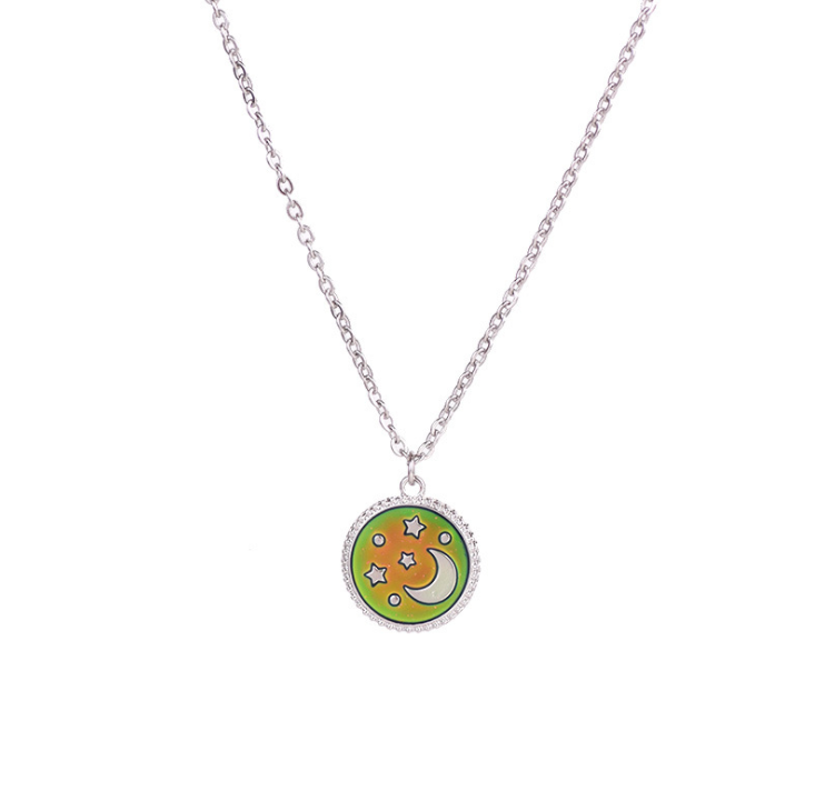 (Hot Sale) Thermochromic Necklace-20 Options