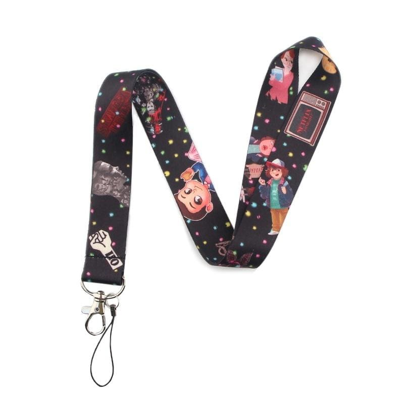 C582 Stranger Things TV Show Lanyard Badge ID Lanyards Lanyard Neck Straps Chain Necklace Accessories