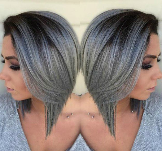 2020 New Gray Hair Wigs For African American Women Elsa Hair Wig Grandma Wig Lilac Wig Gray Hair Fashion Highlights To Cover Grey