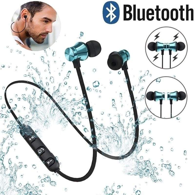 Hot Wireless Bluetooth Earphones Sports Headphones With Microphone Noi Nicerin Best Goods Free Shipping