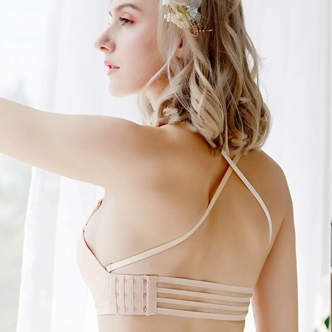 Invisible Strapless Push Up Bra