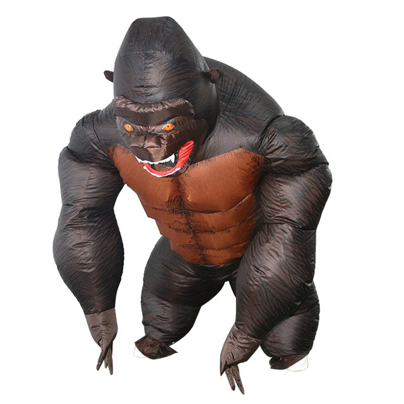 Inflatable King Kong Costume for Kids and Adult