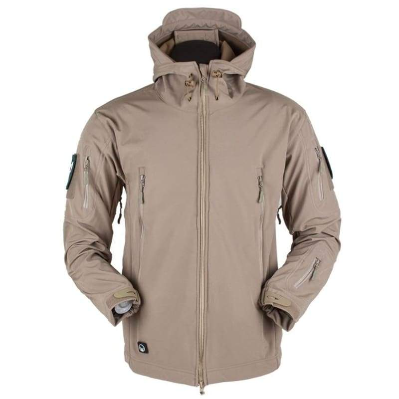 New Design Jackets for Men Winter Top Soft Shell V4 Tactical Military Warm Outdoor Jacket Waterproof Softshell Jackets Men Army Hoody Jacke