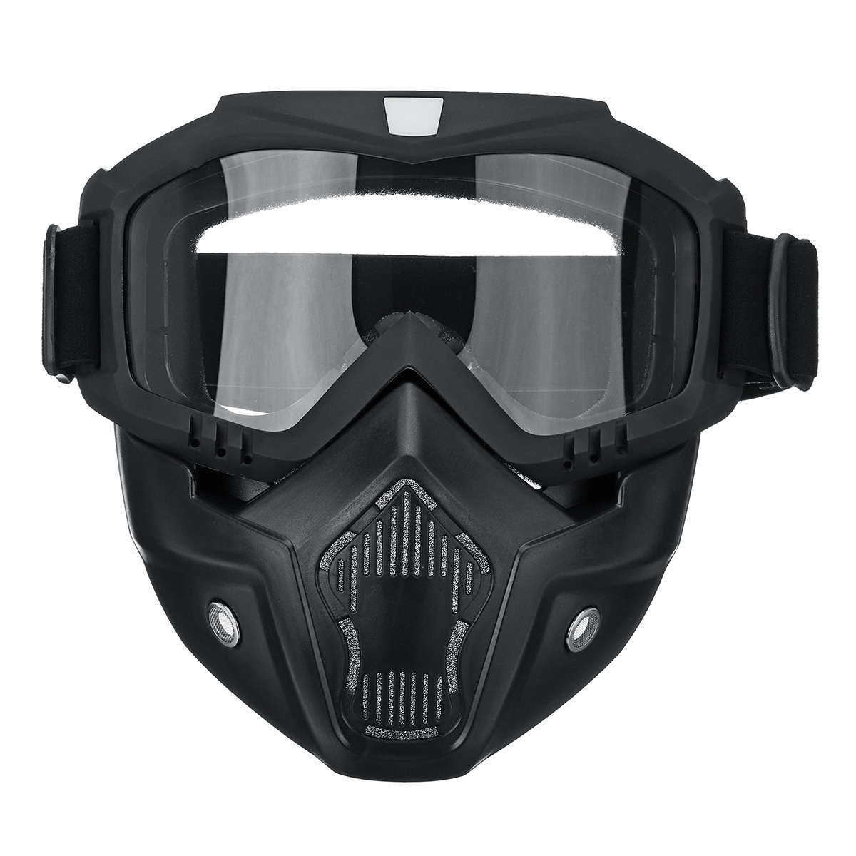 New Full Face Protective Mask Anti Splash Shield Goggles Workplace Protection Supplies Outdoor Cycling CS Game Tactical Mask With Goggle