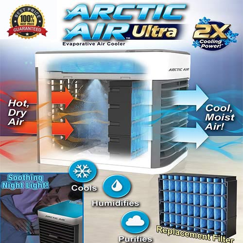 Arctic Air Ultra® Portable Air Cooler | The Only Brand Authorized Store
