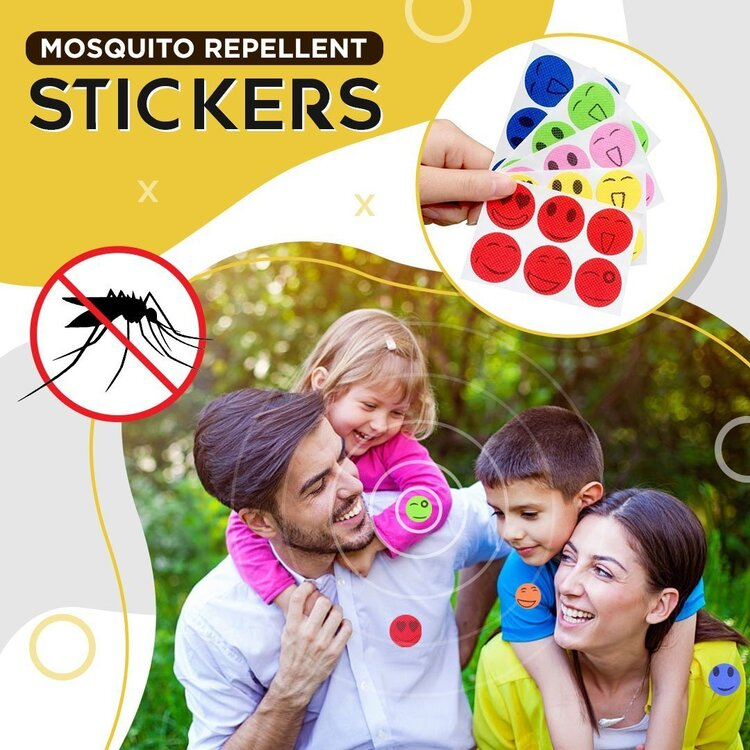 Trendise MoskiPatch™ - Natural Mosquito Repellent (Limited Time Special 120 Pcs/Set)
