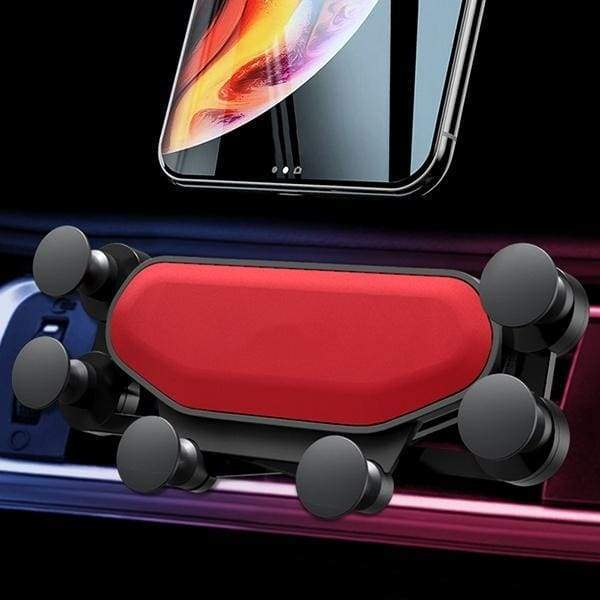 Car Phone Holder Bracket Gravity Car Vent Mobile Phone Holder Universal Creative Navigation Clip for Huawei IPhone 11 Pro Max