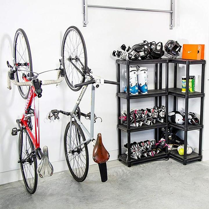 Bicycle Rack Storage System for Home, Garage, or Outdoor