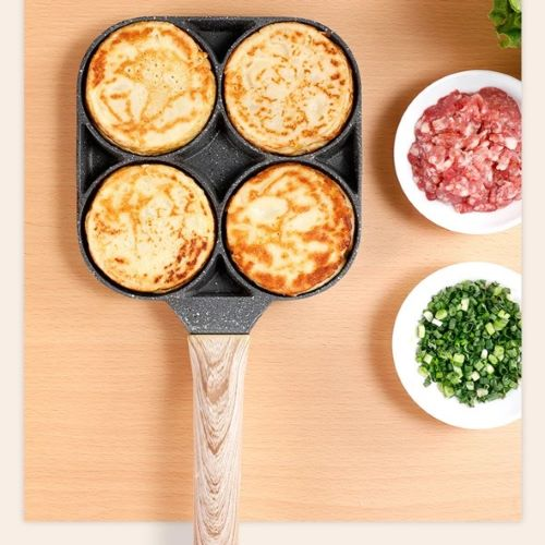 (SUMMER SALE-Save 50% OFF)4-Hole Fried Egg Burger Pan--Buy 2 Get Free Shipping & Save $10