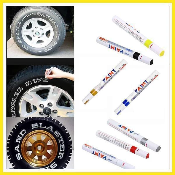 (🔥50% OFF Buy 5 get 7 free)Waterproof Non-Fading - Tire Paint Penlooks