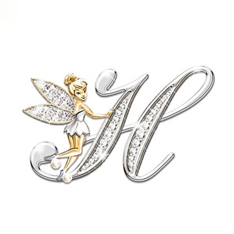 💖A-Z Initial Letter Flower Fairy Necklaces-BUY 2 GET 1 FREE💖