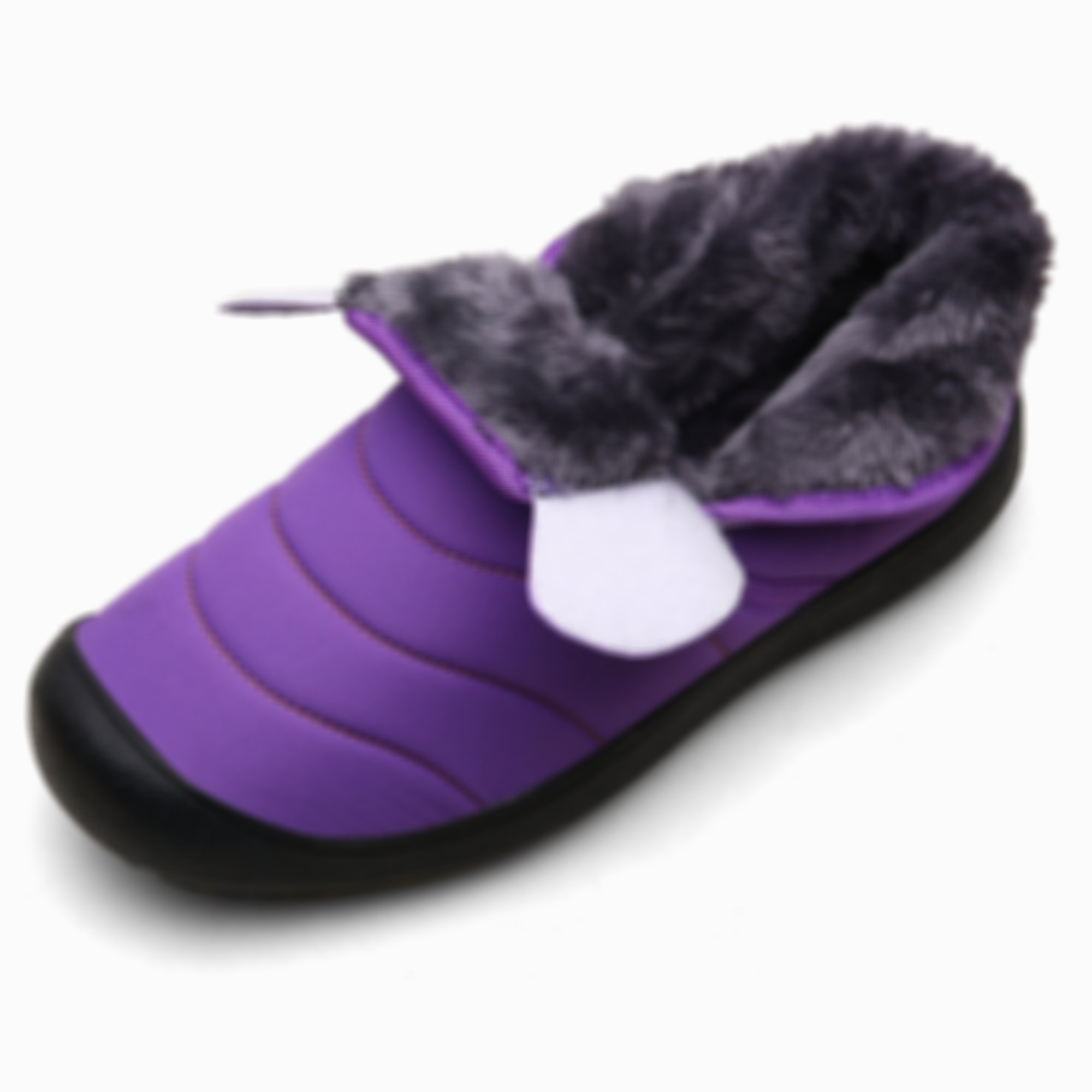 Women Snow Boots Fur Lined Winter Outdoor Slip On Shoes Ankle Boots