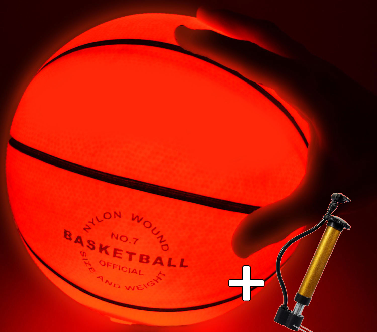 Light Up Basketball-Uses Two High Bright LED's