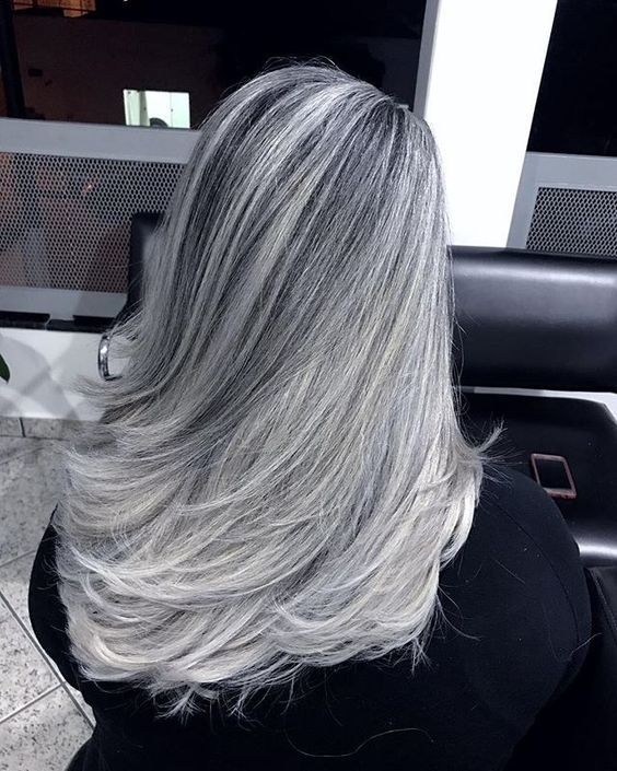 2020 New Gray Hair Wigs For African American Women Powdered Wig Wigs And Beauty Affordable Human Hair Wigs Middle Part Wig Short Grey Hair