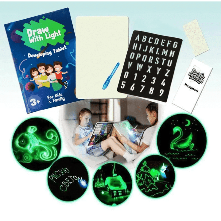 (Children's Day Hot Sale-45% OFF) Light Drawing- Fun And Developing Toy