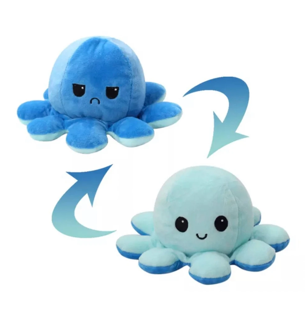 (Early Mother's Day Hot Sale-48% OFF)Reversible Octopus Plush Toy