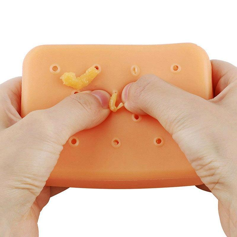 Stress Relief Refillable Pimple Popping Squeezing Toy