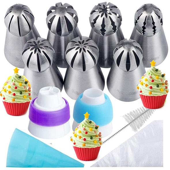 Cake Decor Piping Tips【Limited 50% Off】