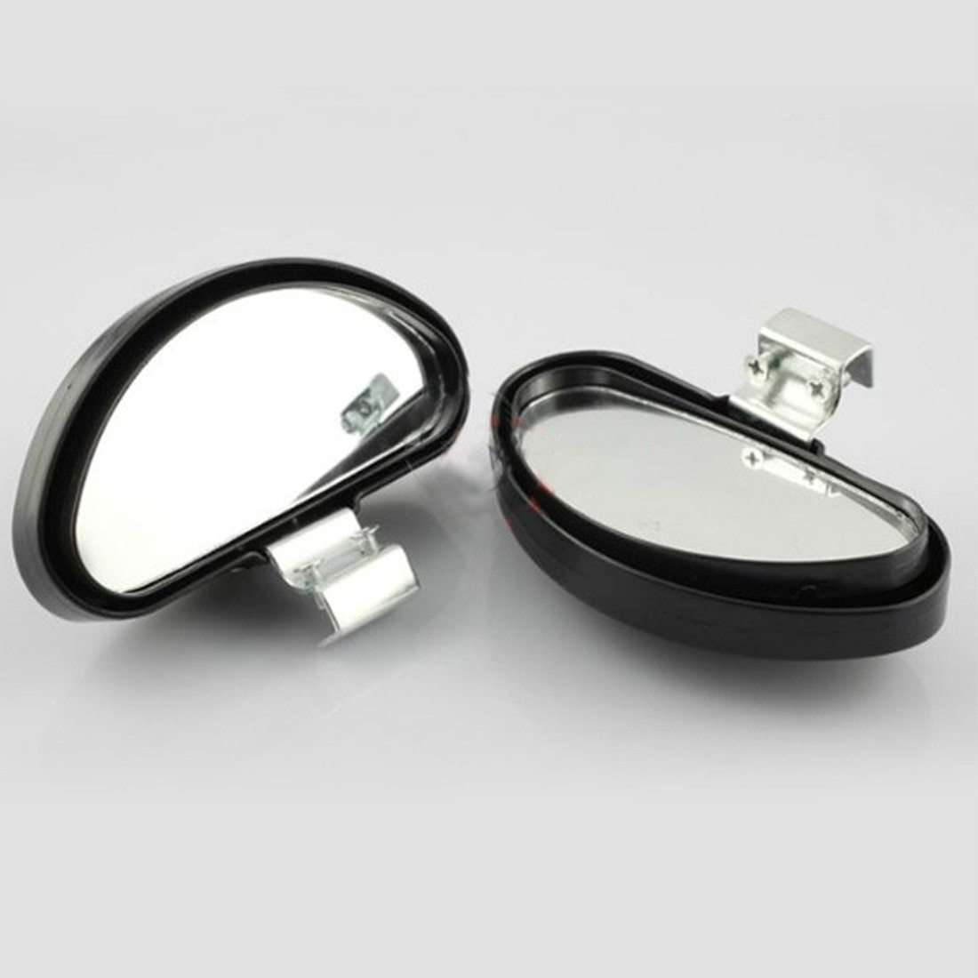 CAR REARVIEW AUXILIARY MIRROR COACH REVERSING ADJUSTABLE WIDE ANGLE VIEW BLIND SPOT BACK MIRROR