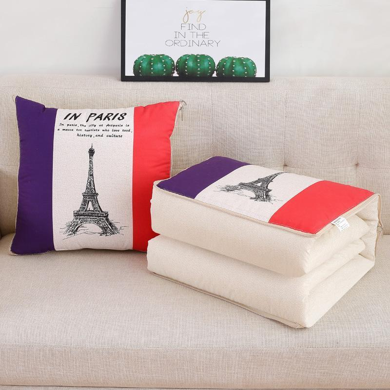 2-in-1 Leisure Office Travel Magic Pillow Blanket