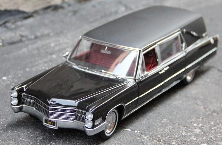 1/18 Cadillac S&S Landau Hearse 1966 (Limited Time Free Shipping)