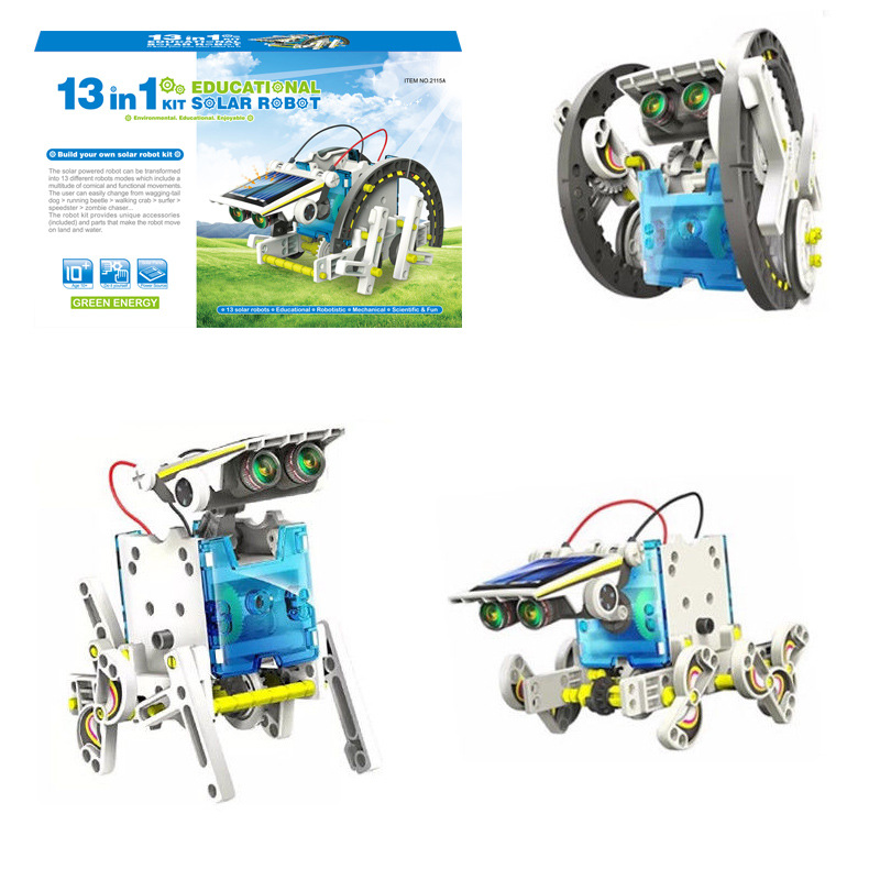 13-in-1 Education Solar Robot Toys(Buy 2 Free Shipping ...