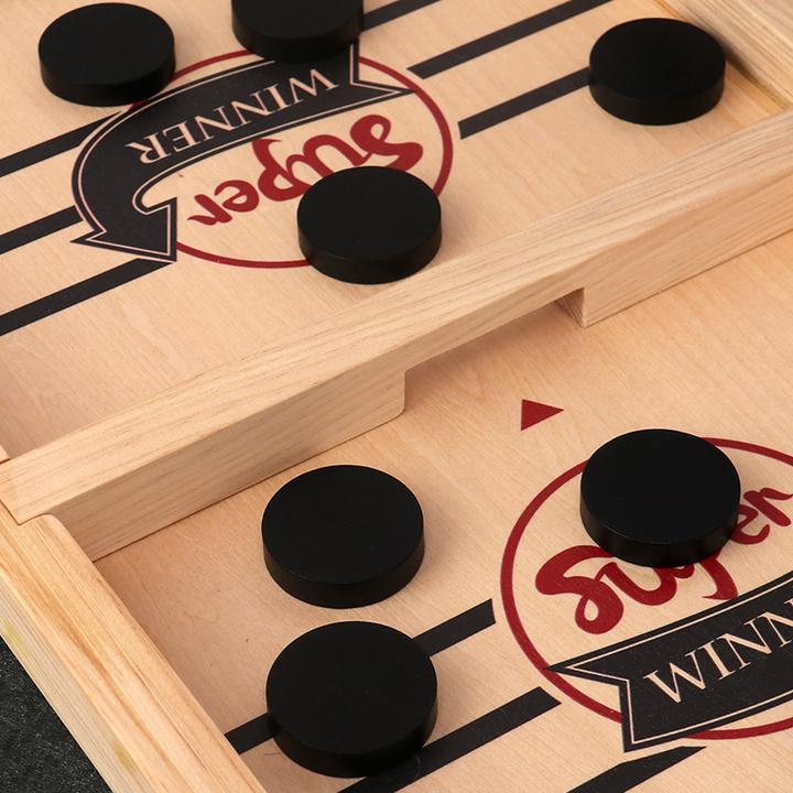 【🔥Buy 2 Free Shipping】—Table Desktop Battle 2 in 1 Ice Hockey Game