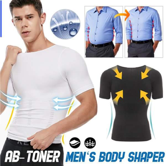 💥EARLY SUMMER BIG SALE 💥2021 MEN'S SHAPER SLIMMING COMPRESSION T-SHIRT(BUY 3 FREE SHIPPING)