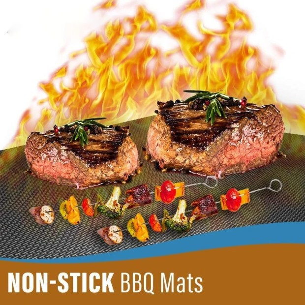 (New Year's Promo-50% OFF) Non-Stick BBQ Baking Mats