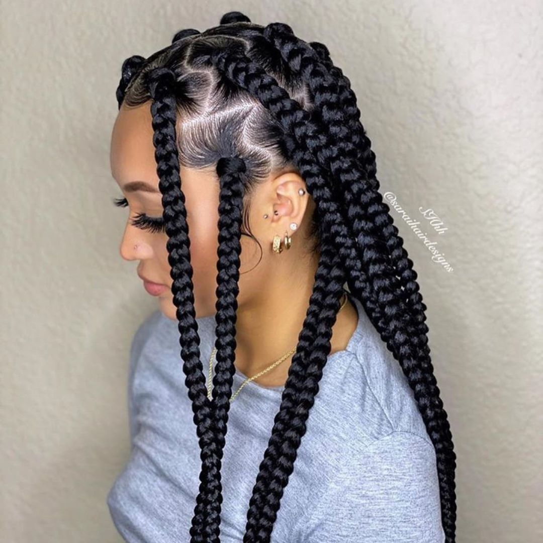 Best Braiding Hairstyles African American Hair 715 Store Hear Stail Jens Individual Braids For Kids Long Hairstyles For Women Over 50