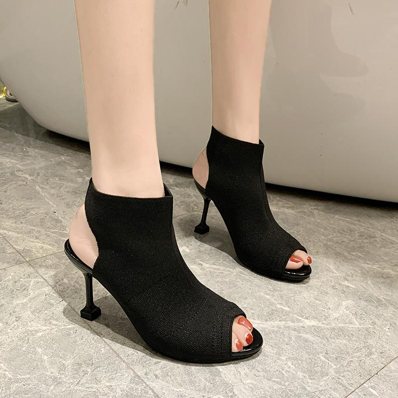 Fish mouth fashion breathable sandals
