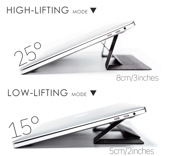 Slim Foldable Laptop Stand